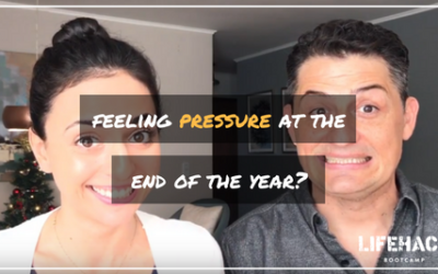 FEELING PRESSURE AT THE END OF THE YEAR?