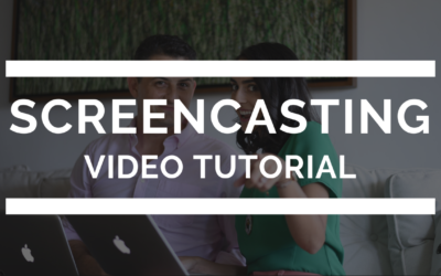 Screencasting Video Tutorial